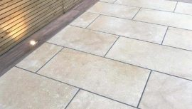 Ecru Paving - Cheshunt